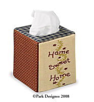 Home Sweet Home Tissue Box Cover