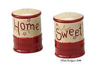 Home Sweet Home Salt & Pepper set