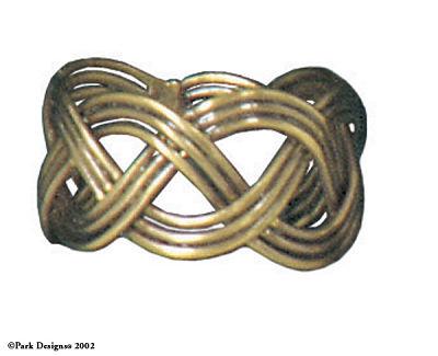 Basket Weave Napkin Ring