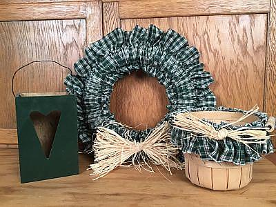 Greenbox wreath basket decor