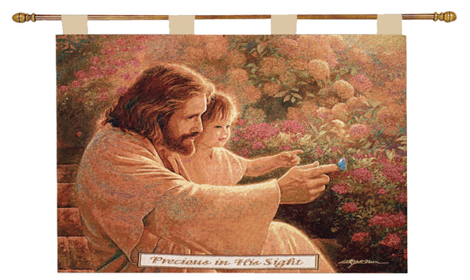 Precious In His Sight Wall Hanging