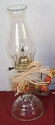 Electric Oil Lamp with flicker bulb
