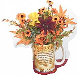 Fall Floral - Prayer of Jabez Cup arrangement